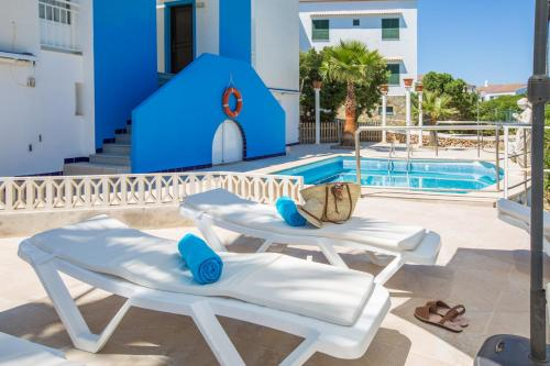 The swimming pool at or near Estel Blanc Apartments - Adults Only