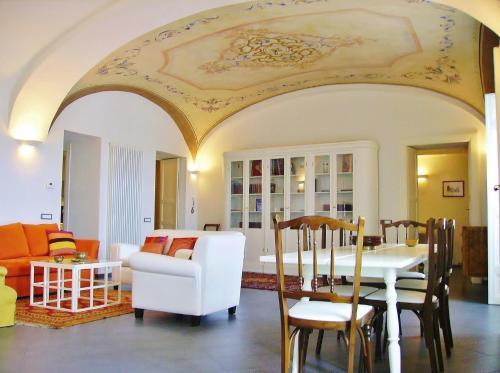 Area soggiorno di Residenze Palazzo Pes