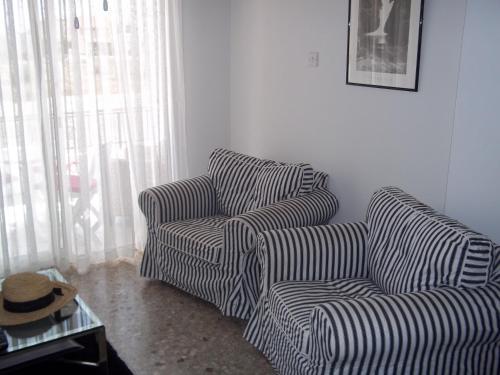 Predel za sedenje v nastanitvi Helen Apartment