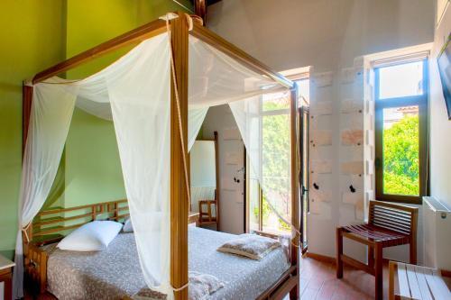 Ένα ή περισσότερα κρεβάτια σε δωμάτιο στο Splanzia Boutique Hotel
