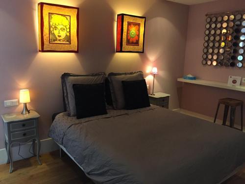 Un ou plusieurs lits dans un hébergement de l'établissement Beauséjour-Porte de Versailles Expo