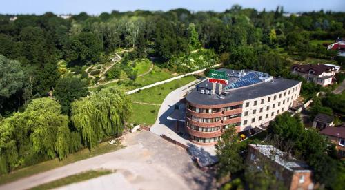 Widok z lotu ptaka na obiekt Hotel Royal Botanic