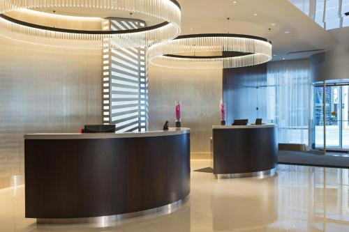 The lobby or reception area at Hotel Chicago Downtown, Autograph Collection