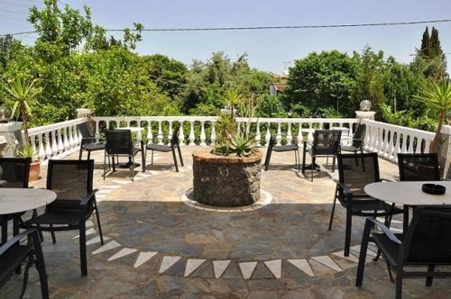 Balcon ou terrasse dans l'établissement Hotel Pyrros