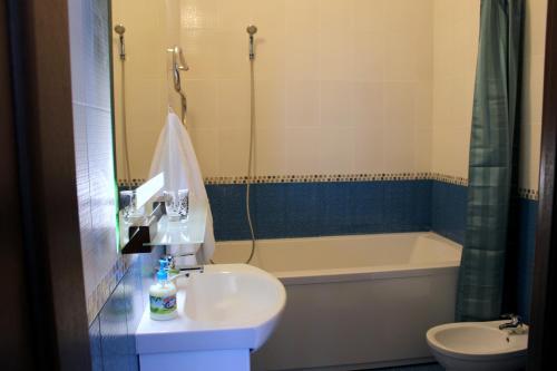 Ванная комната в Агроусадьба Бульбашик