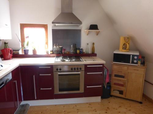 A kitchen or kitchenette at Gîte Du Koenigstuhl