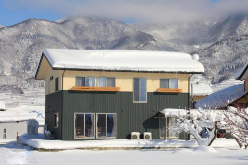 Guesthouse Kanoka during the winter