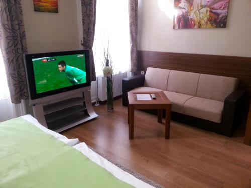 Μια τηλεόραση ή/και κέντρο ψυχαγωγίας στο Elit Hotel
