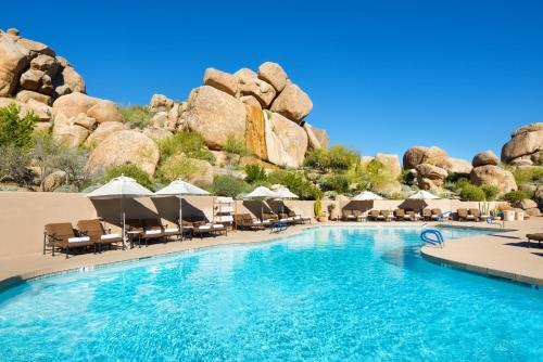 The swimming pool at or near Boulders Resort & Spa Scottsdale, Curio Collection by Hilton