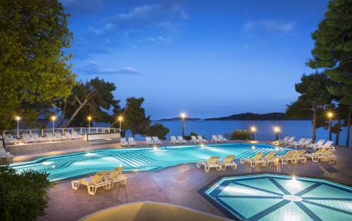 The swimming pool at or close to Aminess Grand Azur Hotel