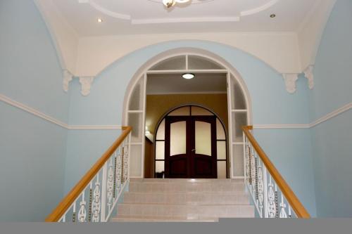 Балкон или терраса в Отель-курорт АЛЛЮР