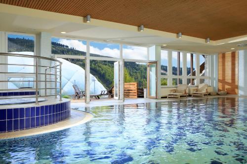 The swimming pool at or near OREA Resort Sklář Harrachov