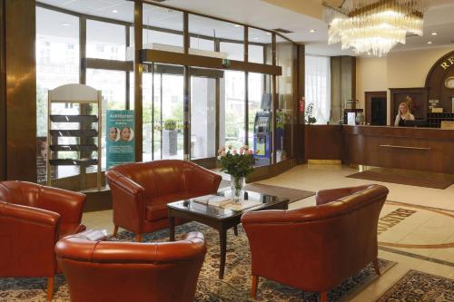 Vstupní hala nebo recepce v ubytování Hotel Bristol