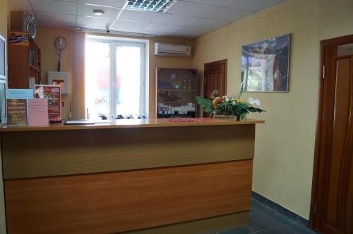 Лобби или стойка регистрации в Гостиничный Комплекс Добрый Финн