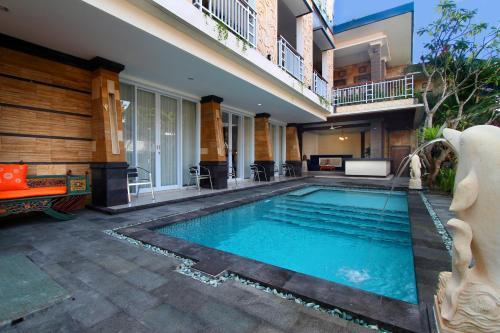 The swimming pool at or close to Lotus Tirta Seminyak
