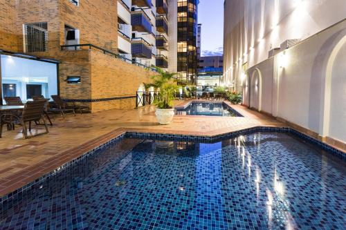 The swimming pool at or close to HM Hotel