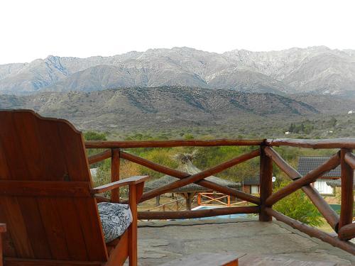 Una imagen general de la montaña o una montaña tomada desde el aparthotel