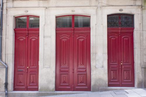 The facade or entrance of Being Porto Hostel