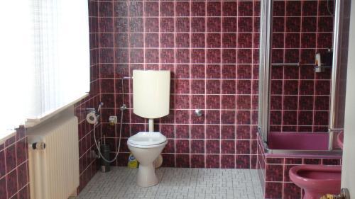 A bathroom at Bed & Cloppenburg