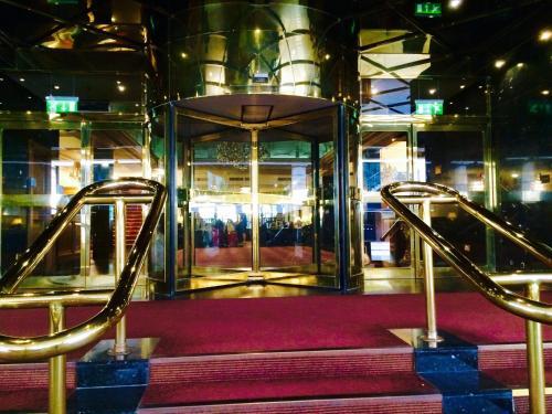 Het fitnesscentrum en/of fitnessfaciliteiten van Britannia International Hotel Canary Wharf