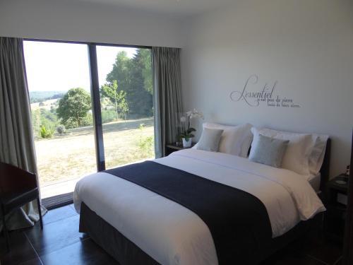Un ou plusieurs lits dans un hébergement de l'établissement La Canopėe 19