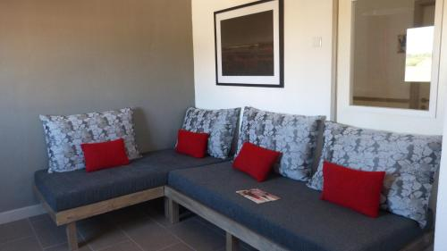 Uma área de estar em Fragateira