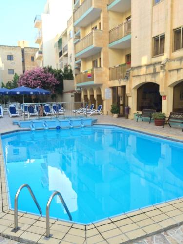 The swimming pool at or near The Bugibba Hotel