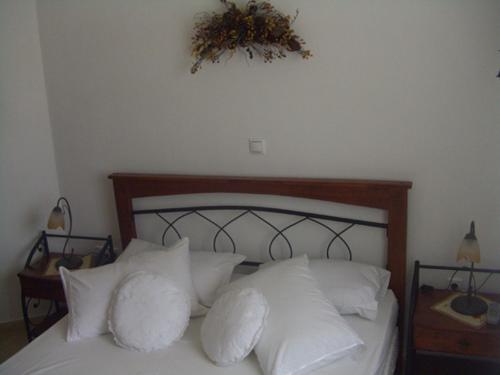 Ένα ή περισσότερα κρεβάτια σε δωμάτιο στο Argilily Studios