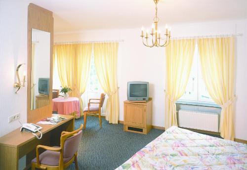 TV/Unterhaltungsangebot in der Unterkunft Hotel Kinnen