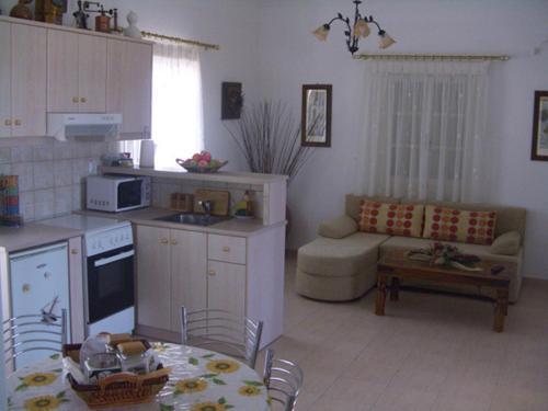 Η κουζίνα ή μικρή κουζίνα στο Argilily Studios