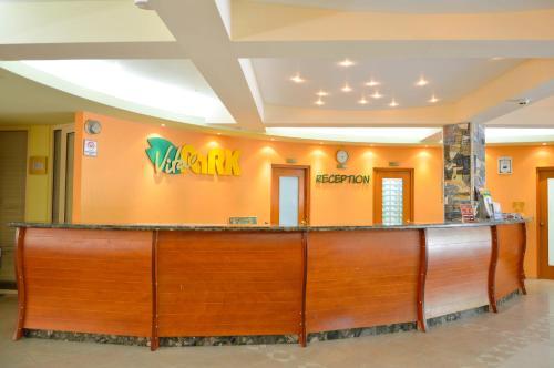 The lobby or reception area at Vita Park Hotel & Aqua Park