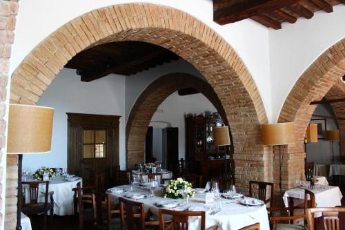 A restaurant or other place to eat at Palazzo Calvi