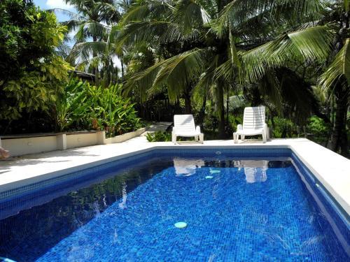 The swimming pool at or near Casas Pelicano