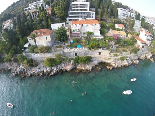 A bird's-eye view of Dubrovnik Apartments - Adults Only