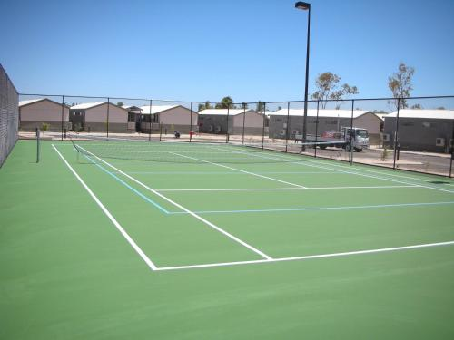 Tennis and/or squash facilities at Aspen Karratha Village - Aspen Workforce Parks or nearby