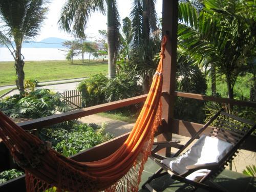 A balcony or terrace at Pousada Vistamar