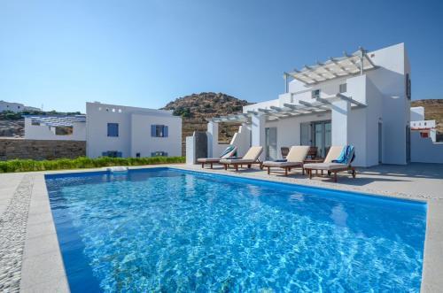 Πισίνα στο ή κοντά στο Natura Villas in Naxos