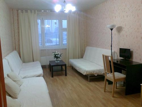 Гостиная зона в Апартаменты Allinrent Химки
