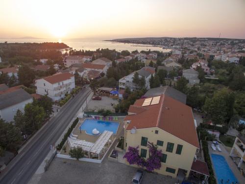 A bird's-eye view of Villa Ani
