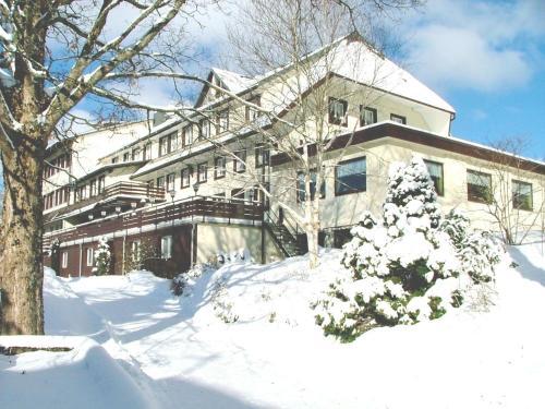 Hotel Landgasthof Adler in de winter