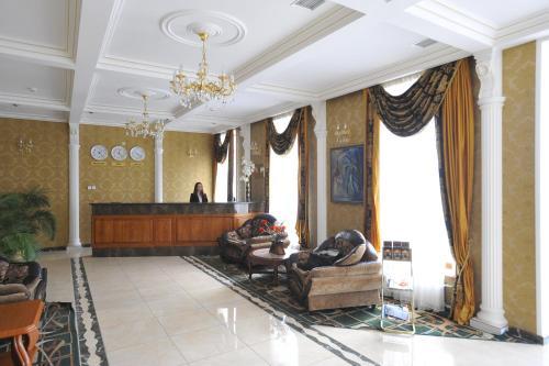 The lobby or reception area at SPA-Hotel Dodo