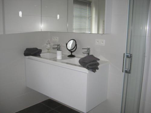 Ein Badezimmer in der Unterkunft Nobel