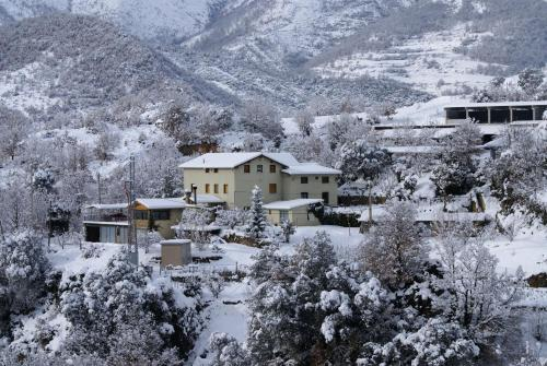 Casa Masover during the winter