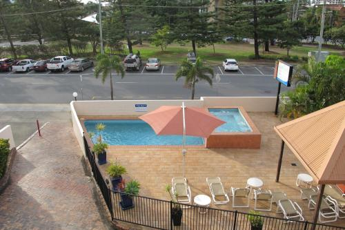 A view of the pool at Barbados Holiday Apartments or nearby