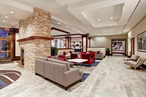 The lobby or reception area at Homewood Suites by Hilton Washington, D.C. Downtown