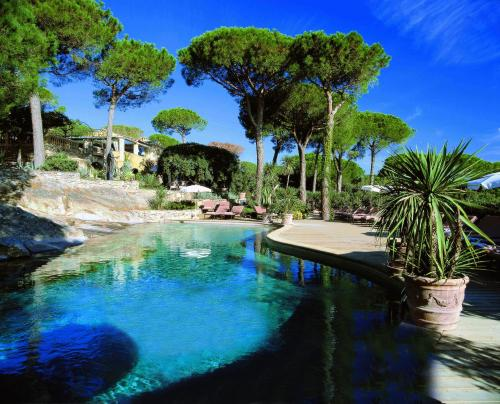 The swimming pool at or close to Hôtel Villa Marie Saint Tropez