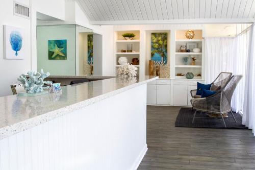 The lobby or reception area at Banana Bay Resort & Marina