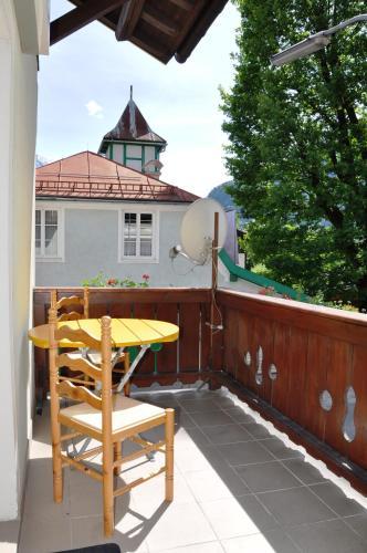 A balcony or terrace at JO Pension