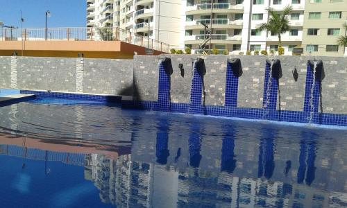 The swimming pool at or near Parque das Águas Quentes
