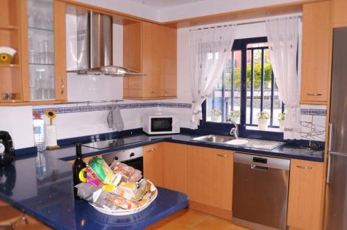 Una cocina o zona de cocina en Bahia Meloneras